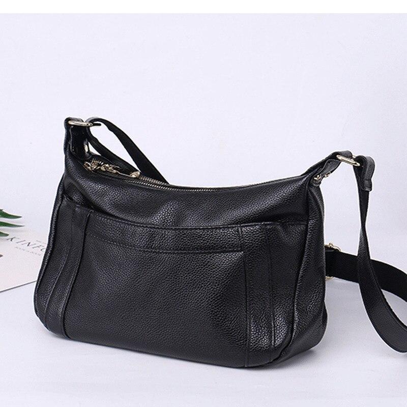 Новое поступление Amasie Для женщин сумка из натуральной Брендовая Дизайнерская обувь бродяга мать сумка Crossbody первый кожа коровы Sac основной ...