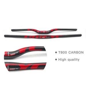 Image 2 - Cina ULLICYC famoso marchio Ullicyc manubrio MTB in carbonio piatto o aumento 31.8*580/600/620/640/660/680/700/720mm CB186