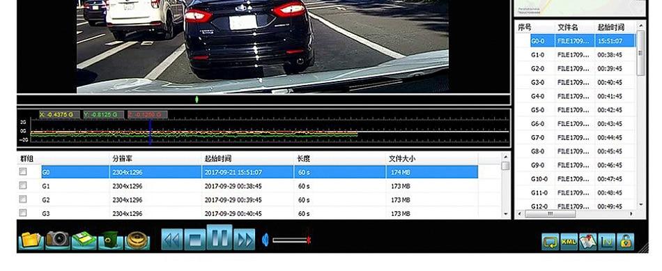 Ruccess Car DVR 3 in 1 Mirror Camera GPS Radar Detector Auto Video Recorder Full HD 1080P Dash Camera Dual Lens Rear View Camera (12)