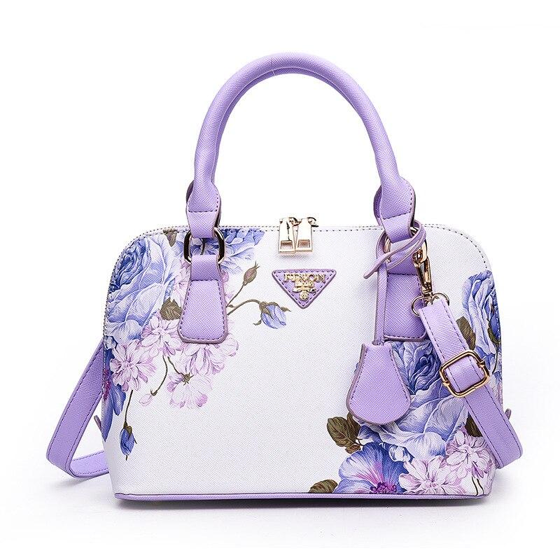 Printing the fashion handbags brand handbags handbag designer shoulder bag 2017 main female shell in summer