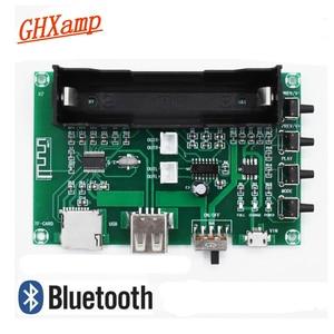 Image 1 - GHXAMP PAM8403 بلوتوث مكبر الصوت مجلس 5 واط * 2 بطارية ليثيوم الغناء آلة USB TF بطاقة ثنائي القناة المتكلم مصغرة DIY