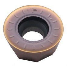 MOSASK – lot de 10 pièces d'insertions rondes en carbure de tungstène, RPMT 1204MO ZM90, traitement de haute dureté HRC 62 °