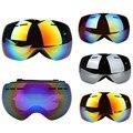 Venta caliente gafas de esquí UV400 anti-vaho grande máscara de esquí gafas de snowboard gafas de esquí hombres mujeres nieve