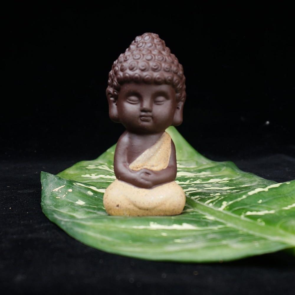 Litttle Buddha Ceramic Figurine 6