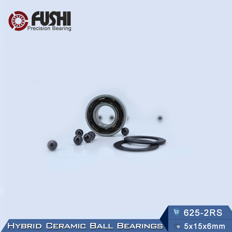 625 Hybrid Ceramic Bearing 5*16*5 mm ABEC-1 ( 1 PC) Industry Motor Spindle 625HC Hybrids Si3N4 Ball Bearings 3NC 625RS топор truper hc 1 1 4f 14951