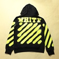 Off White Hoodie Sweatshirts Men Women High Quality Cotton Hip Hop Brand Clothing Autumn Fluorescent Striped Off White Hoodies