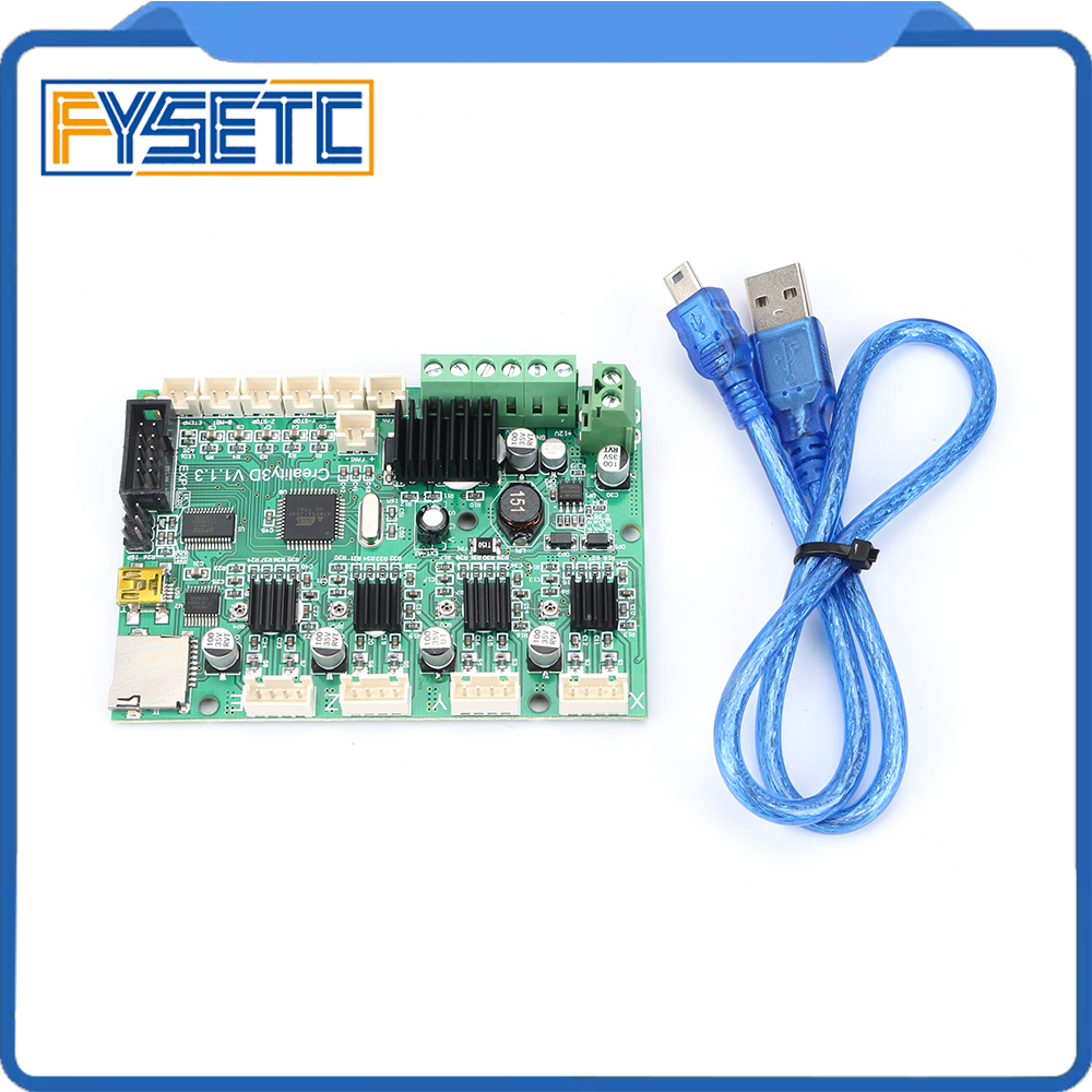 3D Printer Part Motherboard Controller Board Mainboard for Creality Ender-3 220*220*250mm 3D Printer Self Assembly DIY Kit недорго, оригинальная цена