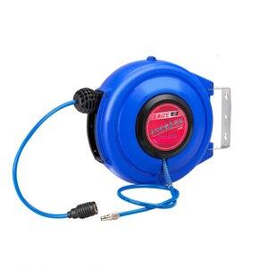 Image 2 - Tuyau dair pneumatique pour automobile, 9M, avec Tube PU, diamètre de 8MM, ID 5MM, enrouleur rétractable automatique, tambour télescopique PU8 * 5
