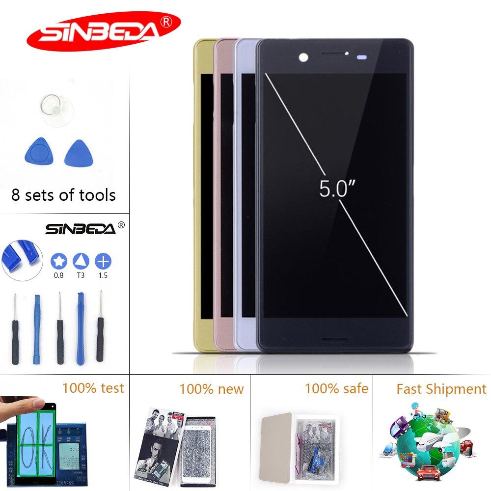 Sinbeda LCD pour Sony Xperia X Performance LCD écran tactile numériseur pour SONY Xperia X affichage des performances
