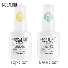 ROSALIND Многофункциональный Топ и основа Гель-лак для ногтей Гель-лак Vernis полу для дизайна ногтей лак для ногтей УФ светодиодный Гель-лак