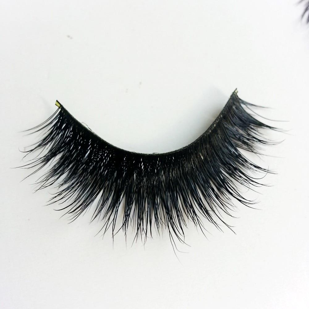 be4db725e72 UPS FreeShipping 200pair/lot 100% real siberian 3d mink full strip false  eyelash long individual eyelashes mink lashes extension