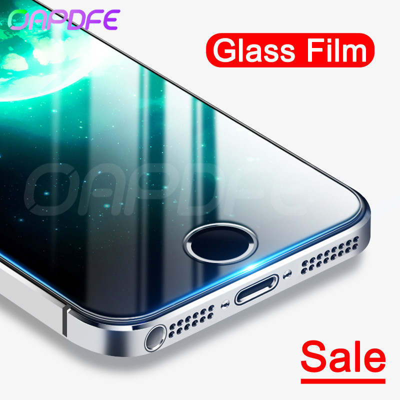 Tempered-Glass Screen-Protector Apple iPhone Protective-Film SE for 5S 5/Se/5c/4s 9H