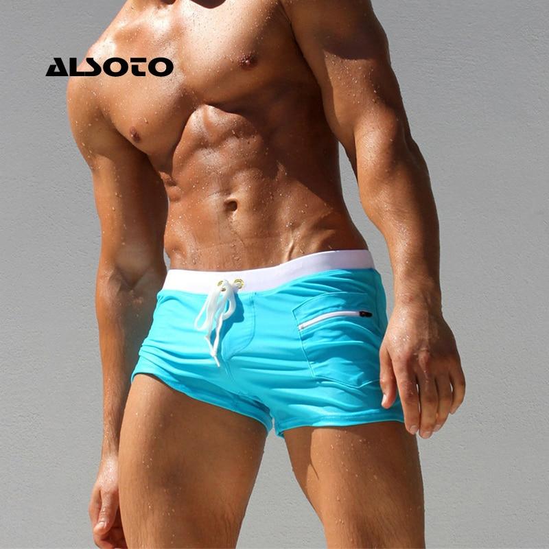 ALSOTO Shorts Men Short Fashion Brand Boardshorts Breathable Casual Mens Shorts Plus Size Men Short Masculino Sunga