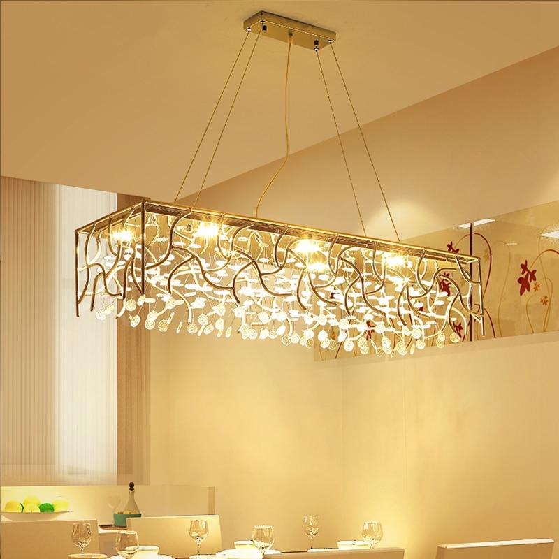 hanging light fixtures living room ideas kerala homes modern chandelier restaurant lights novelties lighting crystal lamps led dining chandeliers