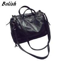New Arrive 2015 Female Waterproof Handbag Motorcycle Bag Leather Handbag Women S Bag Messenger Bag Shoulder