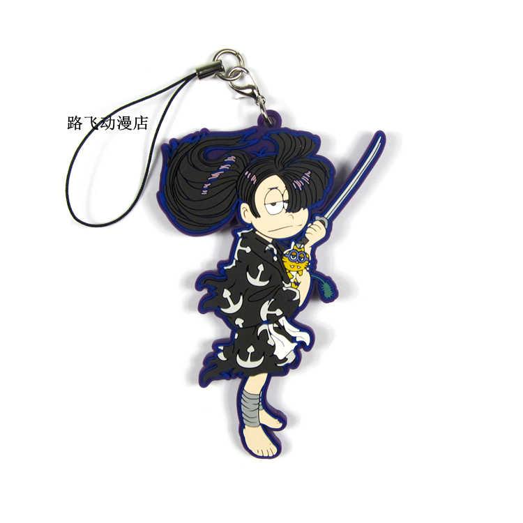 Osomatsu-san MATSUNO KARAMATSU MATSUNO ICHIMATSU JYUSHIMATSU Action รูปอะนิเมะรุ่นยางพวงกุญแจจี้ของขวัญ