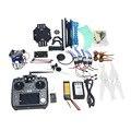 Jmt conjunto completo rc drone quadrocopter aviones $ number ejes kit 500mm multi-rotor aire 6 m gps apm2.8 cardán de $ number ejes de control de vuelo