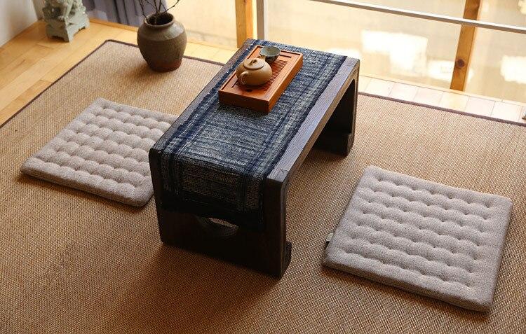 2pcs/lot)Zen Cushion Zabuton Zafu Square 40cm Floor Meditation Seat ...