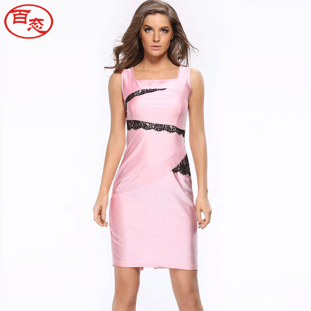 2017 femmes d 39 t robe de soir e designer robe sexy bureau robes robes pas cher v tements chine. Black Bedroom Furniture Sets. Home Design Ideas