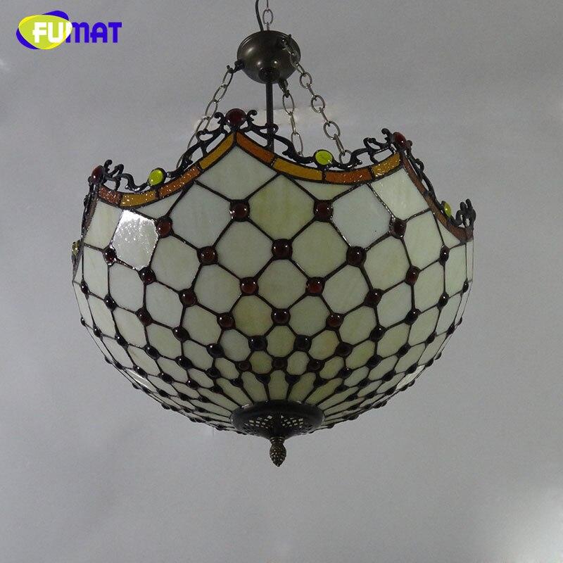 FUMAT Privjesak od stakla, umjetno vitražno svjetlo za dnevne sobe, - Unutarnja rasvjeta - Foto 2
