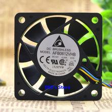Ventilateur de refroidissement de processeur, pour onduleur de serveur 6015 60x60*15MM DC 12V 0.24A A1D 6CM 4 broches PWM 3700RPM 24CFM