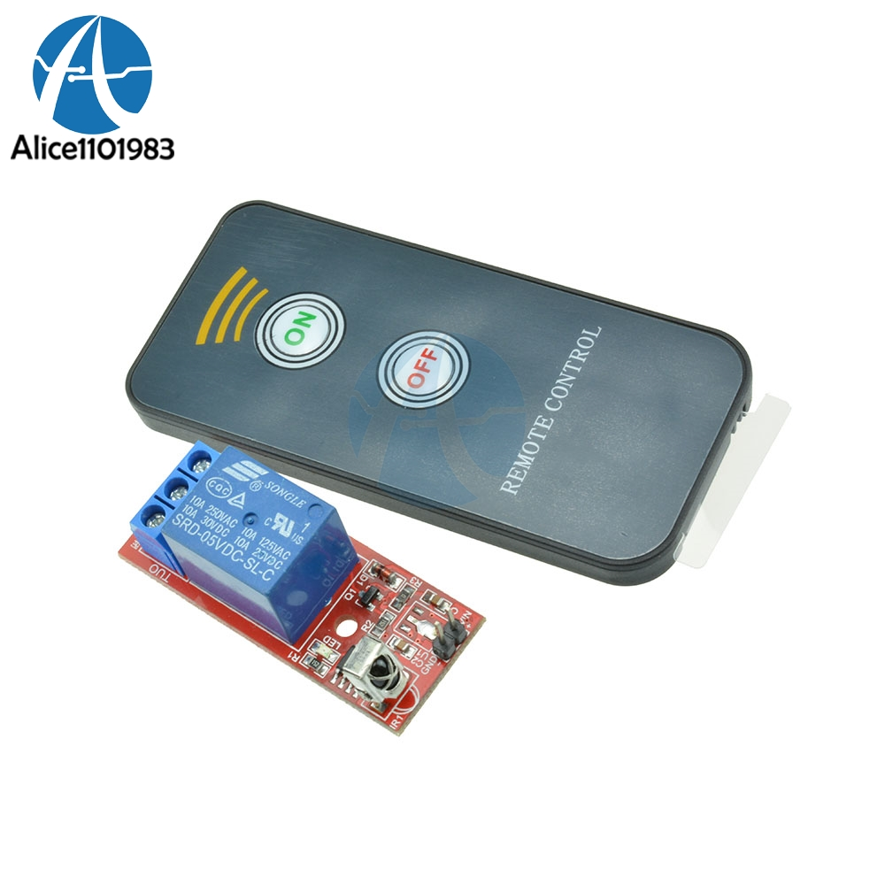 Active 1 Channel Infrared Switch Relay Driving Module Board 5v Active Remote Controller Electronic Components & Supplies