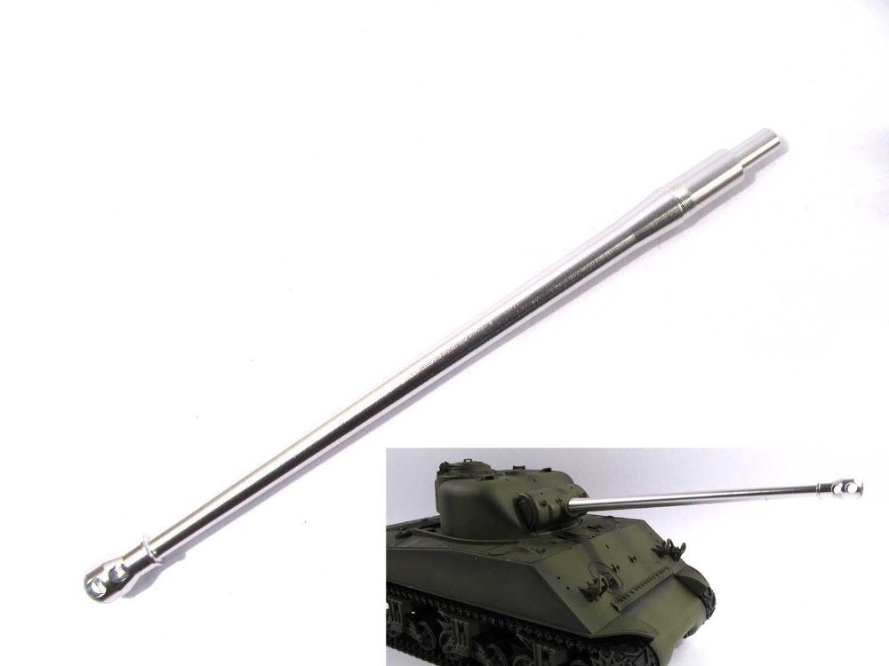 New Mato metal upgrade tank part Sherman firefly barrel for Heng Long 1:16 1/16 3898-1 Sherman M4A3 rc tank