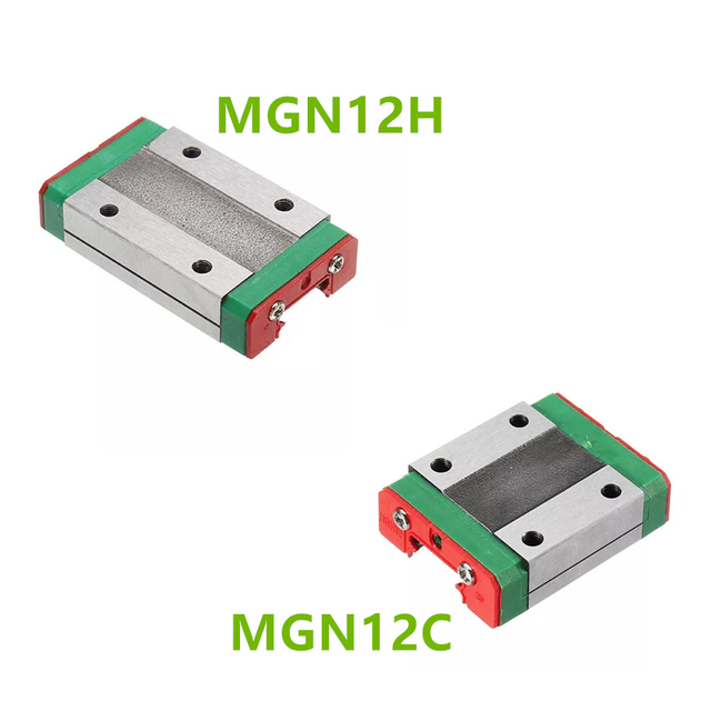 MGN9H MGN9C MGN12H MGN12C MGN15H MGN15C MGN7H MGN7C transporte bloque para MGN9 MGN12 MGN15 guía lineal para 3d impresora CNC