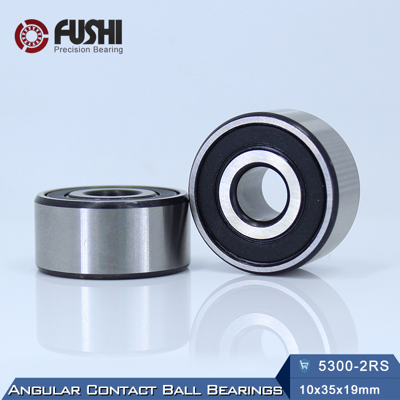 5300 2RS Bearing 10 x 35 x 19 mm ( 1 PC ) Axial Double Row Angular Contact 5300RS 3300 2RS 3056300 Ball Bearings bosch smz 5300 00791039