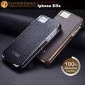 чехлы на айфон 5s ICARER гальванических серии кожаный чехол для iPhone 5 5S подлинной натуральной флип мобильный телефон сумка золото серебро хром