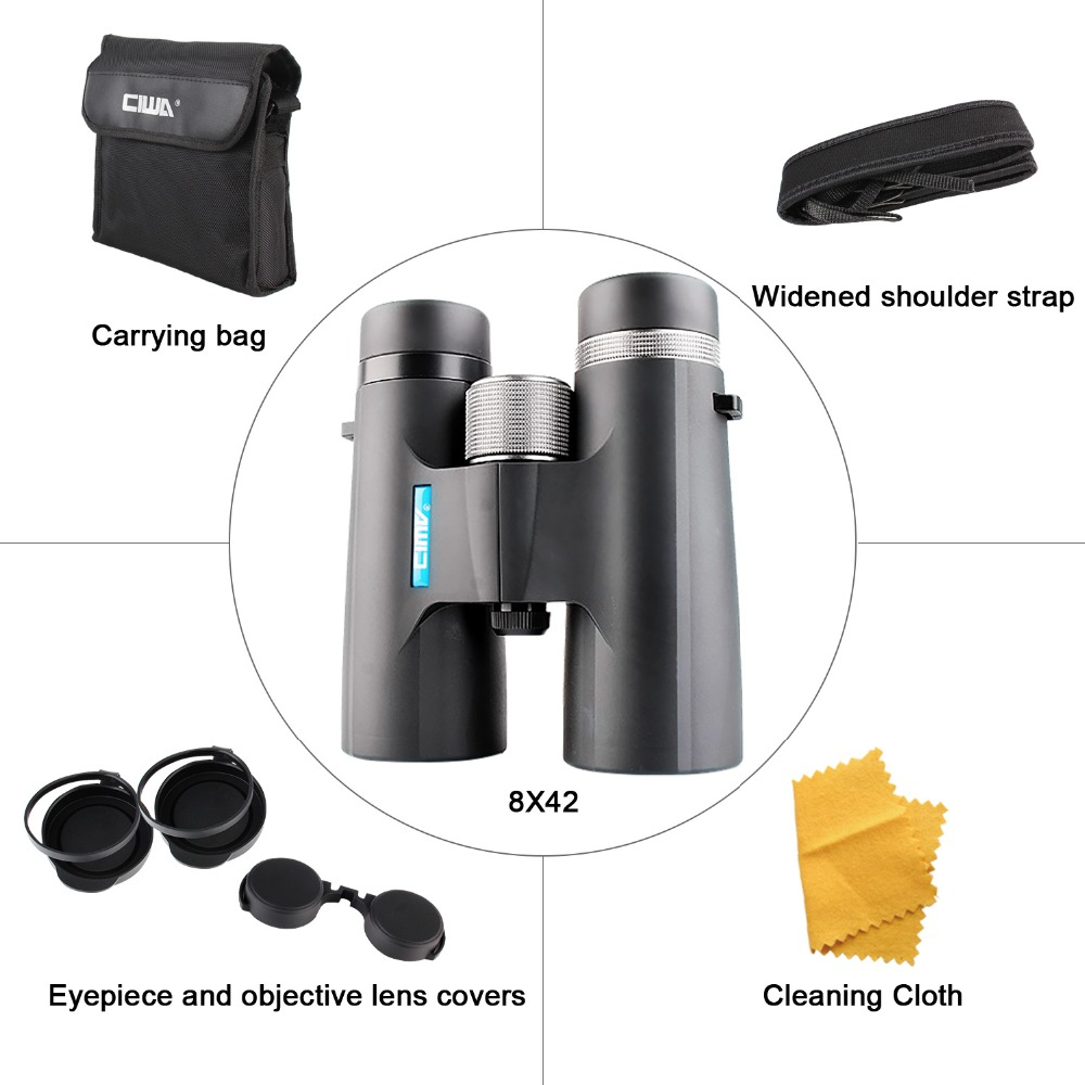 CIWA vision king binoculars night vision Hunting Eyepiece waterproof telescope outdoor eyepiece waterproof portable binoculars