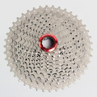 AOXIN 10 Speed 11 40T / 11 42T Bicycle Freewheel Wide Ratio bike Mountain Bicycle Cassette Tool MTB Flywheel