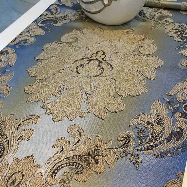 גאה עלה אופנה שיפוע שולחן בד רץ לשולחן אירופאי סגנון שולחן דגל מיטת דגל מודרני ביתי אוכל שולחן קישוט