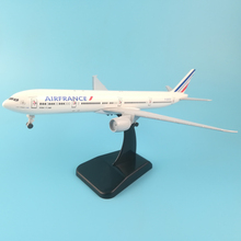 Concorde AIR FRANCE Airlines B747 Boeing 777 20cm Alloy Metal Model Airplane Air W Stand Aircraft pulley landing gear Craft gift