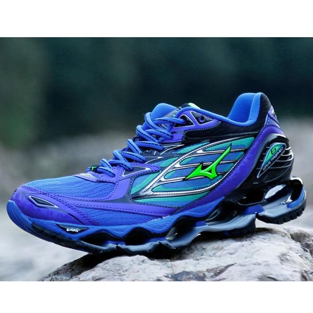 Asli MIZUNO WAVE PROPHECY 6 Profesional Pria Olahraga Sneakers Pagar Sepatu  Angkat Besi Sepatu Ukuran 40 d1500b18f9