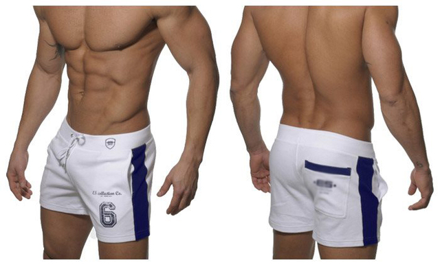 New Hot Men's Fashion Casual Home Shorts Male Cotton Motion Slacks Shorts Man Fitness Exercise Short Men Household Sweatpants