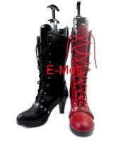 Arkham Knight Harley Quinn Boots Cosplay Women S Shoes Custom Made Halloween High Quality 5947