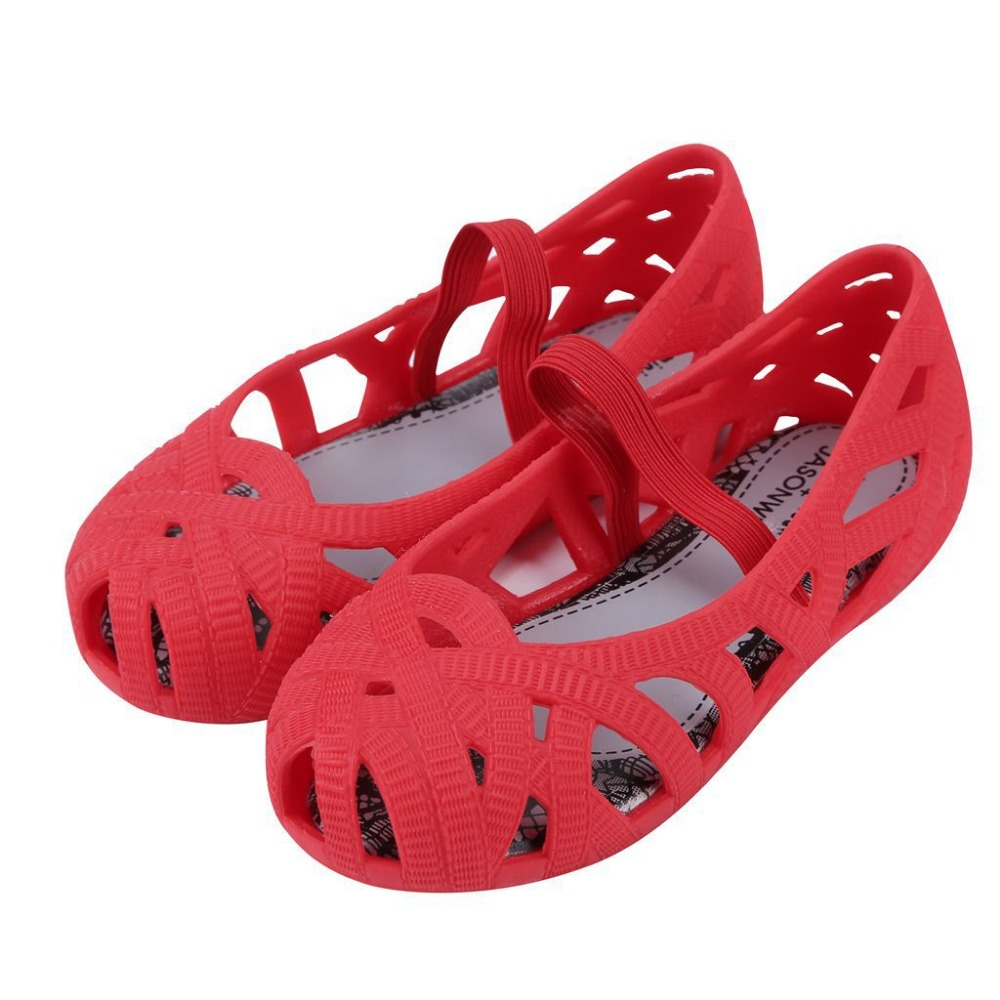 2017 baby girl sandals Mini Melissa Hollow Girls Sandals Jelly Shoes Children Shoes Jelly Shoes Baby