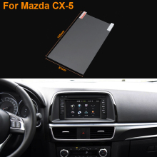 Car Styling 7 Inch GPS Navigation Screen Steel Protective Film For Mazda CX-5 Control of LCD Screen Car Sticker