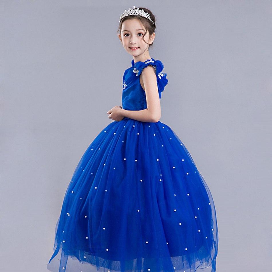 Girls Cinderella Princess Cosplay Costume (9)
