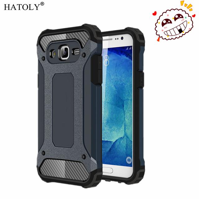 cf4b019b0bb HATOLY For Coque Samsung Galaxy J5 2015 Case Galaxy J5 2015 Heavy Duty  Armor Hard Cover