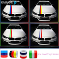 """79""""/2M 118""""/3M M Sport Car Styling Front Reflective Strip Decal Vinyl Kidney Grille Sticker for BMW M3 M5 M6 3/5/7 Series"""
