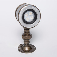 RH Vintage Industrial Pipe Wall Lamps 5W LED Wall Light For Bar Restaurant Wall Fixtures Bedside