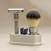 Rasoio di sicurezza rasoio Per Gli Uomini Regolabile Vicino Rasatura Classic Double Edge Razor blades lama di ricambio coltello da barba set