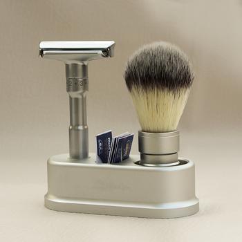Maszynka do golenia prosta golarka dla mężczyzn regulowana golarka do golenia klasyczna podwójna krawędź żyletki zestaw do golenia tanie i dobre opinie River lake Mężczyzna 9 5cm x1cm x 5cm Face 2000S Male Razor