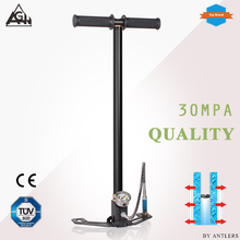 30Mpa 4500psi Air PCP Paintball Pump High pressure Rifle hand pump 3 Stage with filter Mini Compressor black  not hill