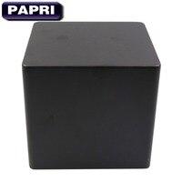 PAPRI 150*140*140MM Transformer Cover Case Box Protect Enclosure Tube Audio Iron Metal Triod HIFI DIY Amplifier Black 1PCS