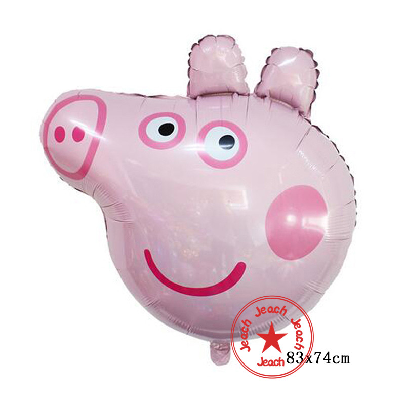 birthday balloons weeding decoration for weddings pink pig baby