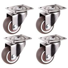 Мини-ролики диаметром 1 дюйм/25 мм ультра-тихие колеса для книжных ящиков
