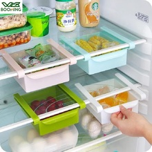 WBBOOMING Kitchen Refrigerator Storage Box Food Container Fresh Spacer Layer Storage Rack Pull-out Drawers Fresh Sort Organizer
